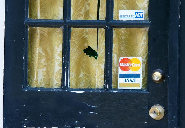 海外のお店のドア