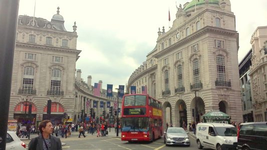 ロンドンの街並